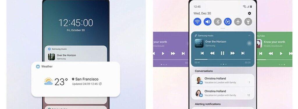 Samsung UI 3.0