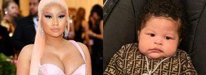Nicki Minaj Shares First Photos Of Her Three-Month-Old Son