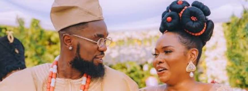 "Patoranking And Yemi Alade Tie The Knot In ""Mon Bébé"" Video Ft Flavour"