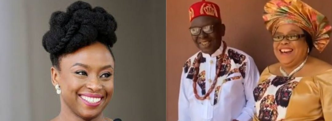 Chimamanda Adichie Loses Mum Few Months After Demise Of Her Dad