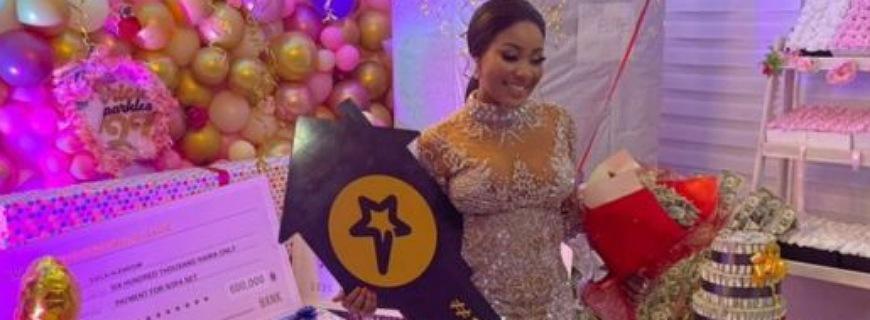Fans Gift BBNaija's Erica Stocks Worth Millions In Tesla & Lekki Mansion For Birthday