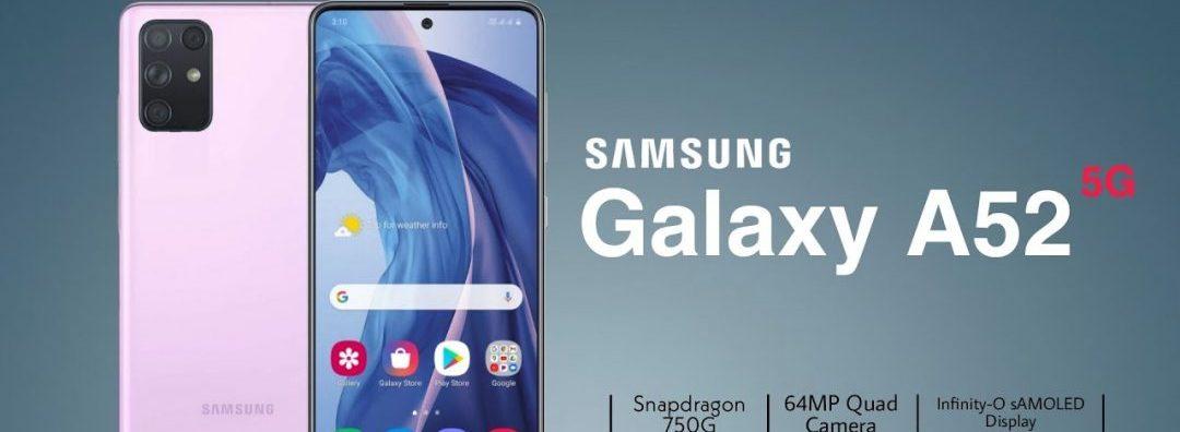 Samsung A52 5G updates
