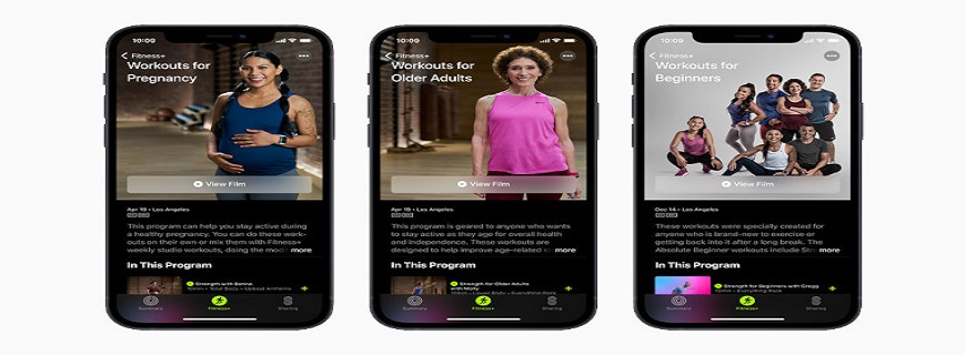 Apple Fitness+ Now Caters To Pregnant And Older People