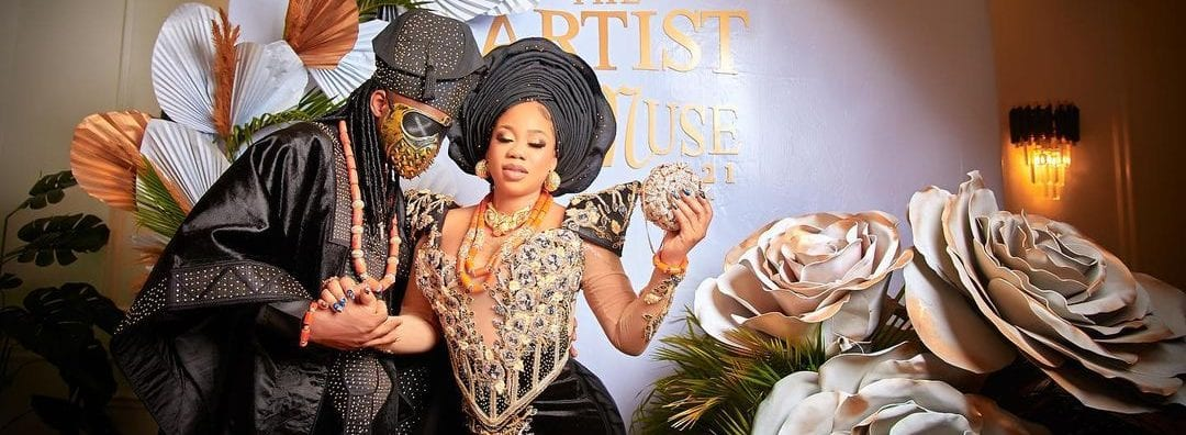 See Photos From Tiannah And Segun Adebayo's Star Studded Wedding