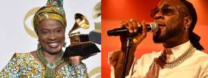 """Leave My Boy Alone""- Angelique Kidjo Warns Burna Boy's Critics"