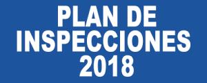 PLAN DE INSPECCIONES 2018