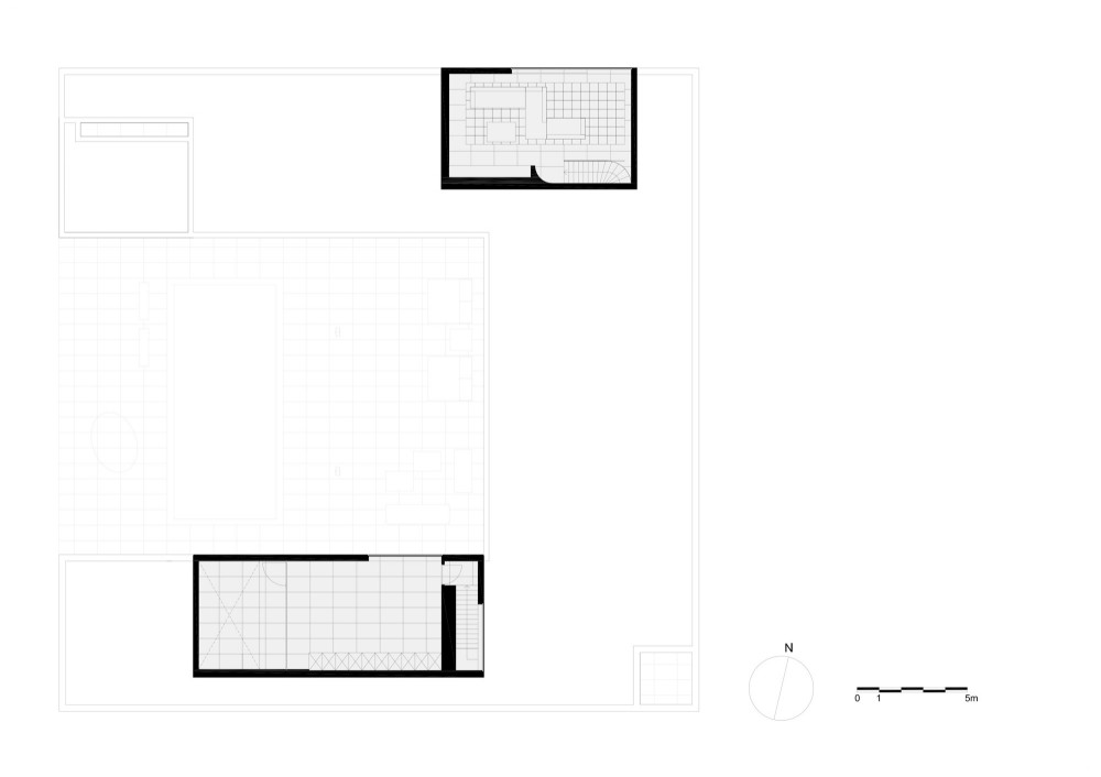 upper floor plan upper floor plan Planta 2