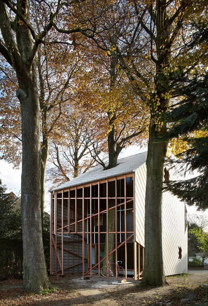 Casa Bernheimbeuk / architecten de vylder vinck taillieu (20) © Filip Dujardin