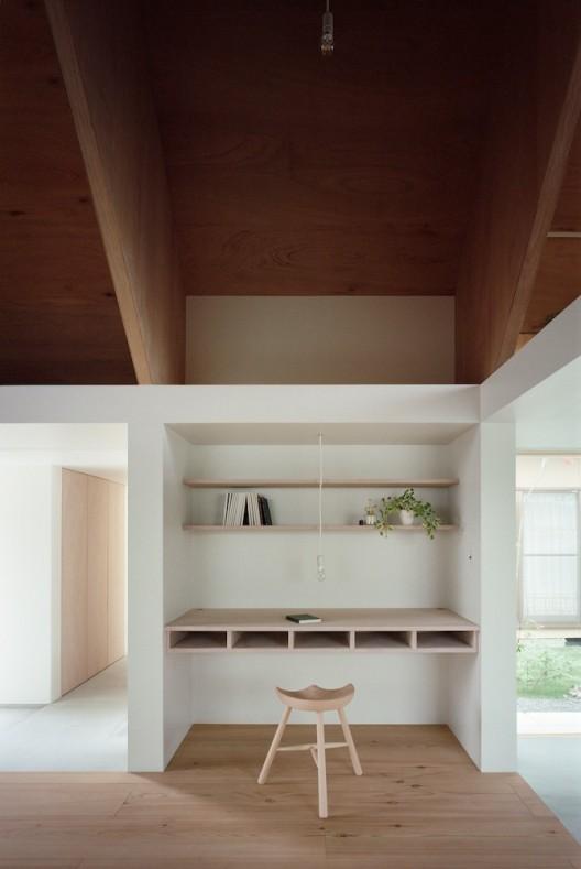 Architecture d'intérieur, style japonais, bureau.