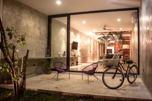 Loft PX  Desnivel Arquitectos  Planos de Casas Gratis
