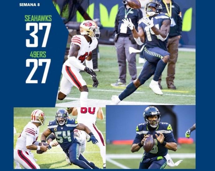 Los Seahawks vencen a los 49ers en la semna 8