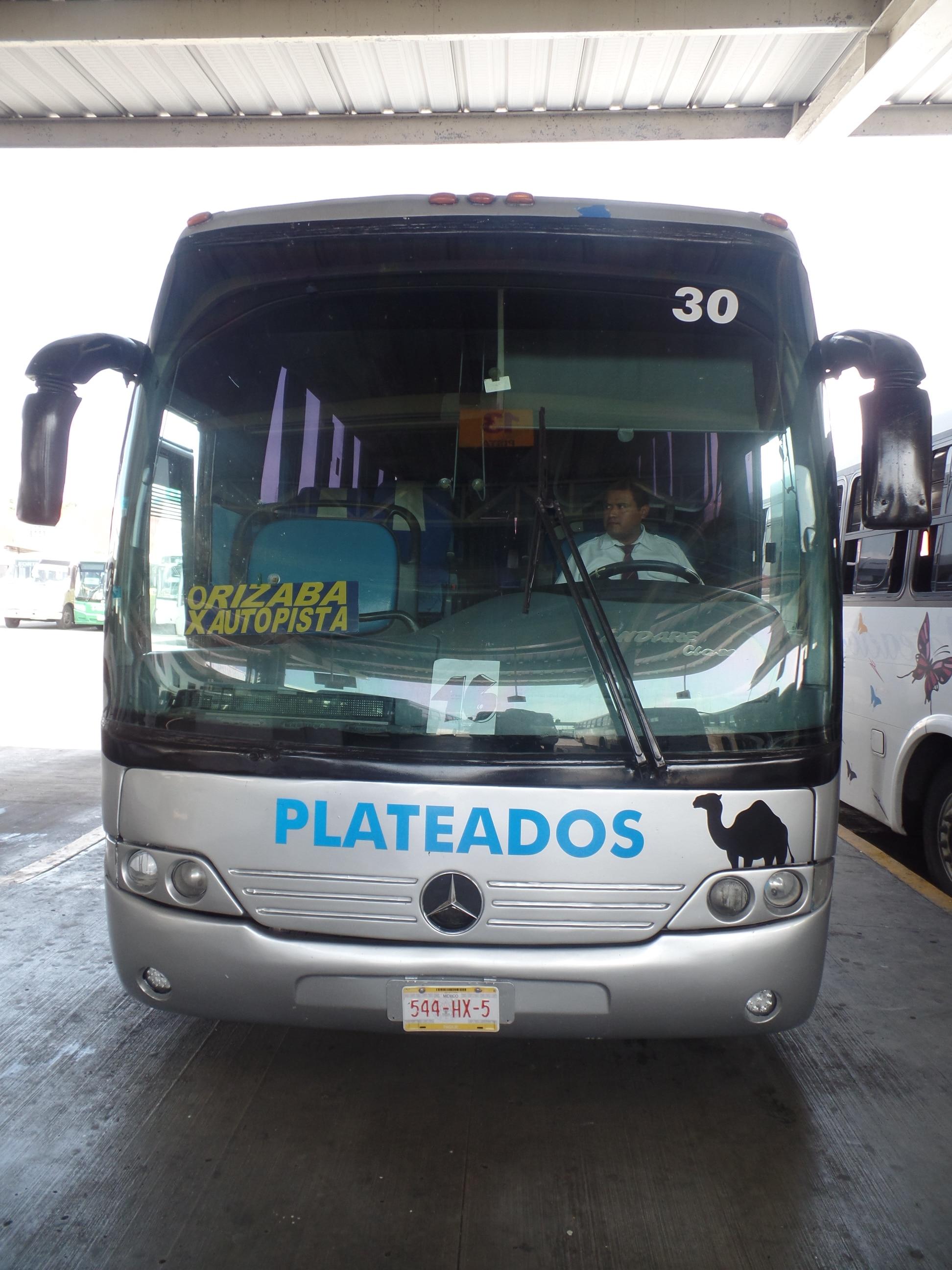 "Mercedes Benz Marcopolo Andare Class, Autotransportes de Córdoba, S.A. de C.V. ""Plateados"""