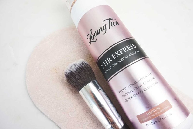 Loving Tan 2hr Express Deluxe Bronzing Mousse in Medium