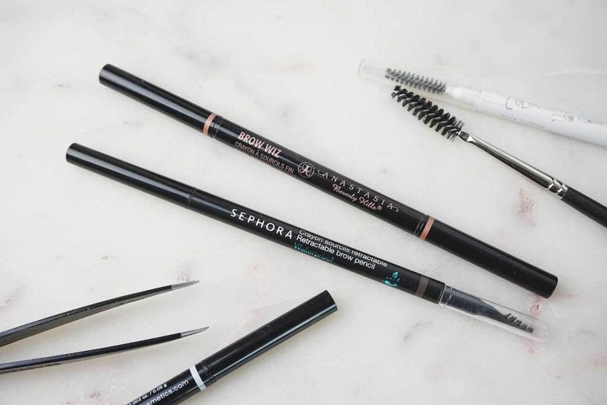 Anastasia Brow Wiz VS. Sephora Retractable Brow Pencil