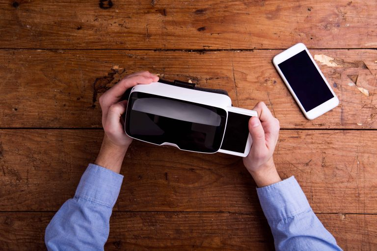 Unboxing VR headsets