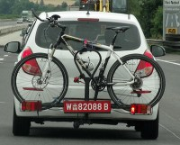 License Plate Bike Carrier - Largest and The Most ...