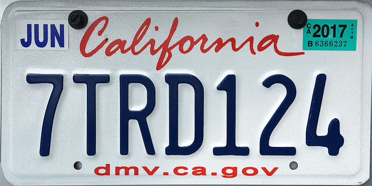 Pay License Plate Sticker Online