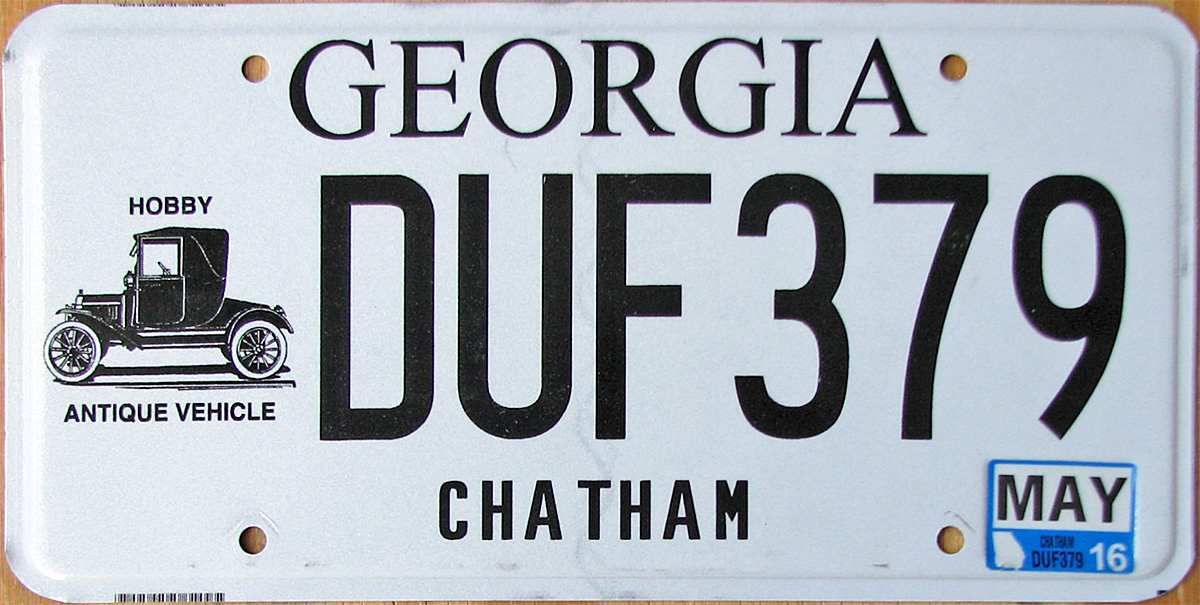 Honorary Consul License Plates