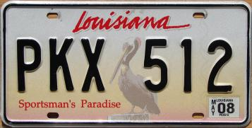 license plate rank