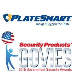 PlateSmart, Leading Provider of LPR Solutions and Analytics, Wins Govies 2015 Platinum Award