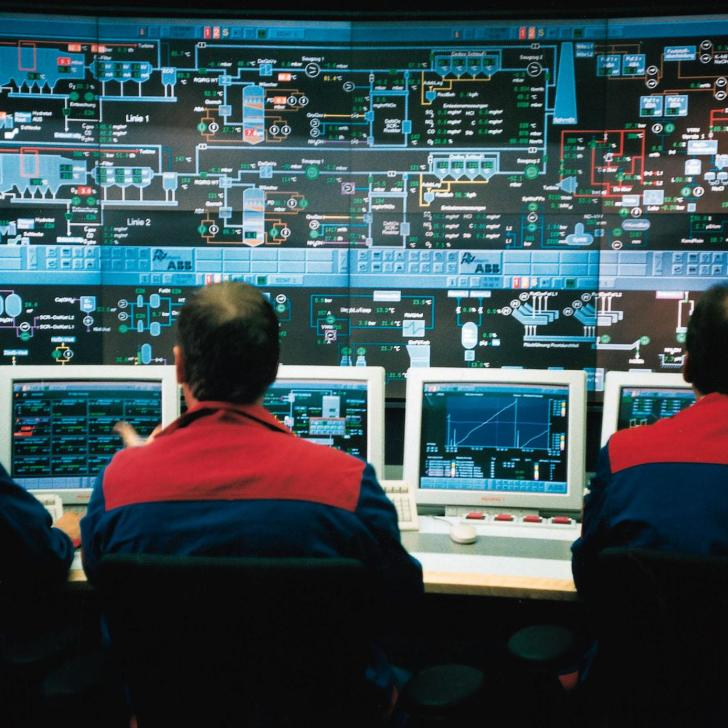 Power Plant Control Room