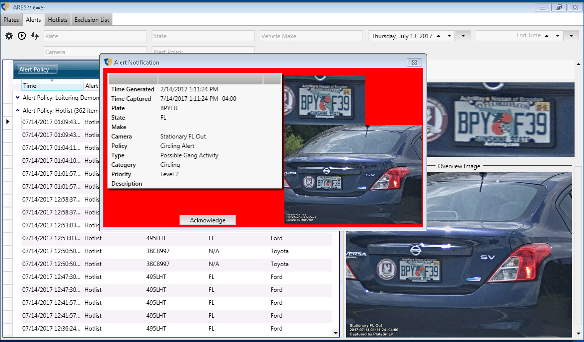 Ares Viewer Screen