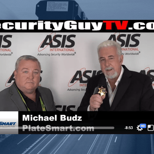 PlateSmart on Security Guy TV