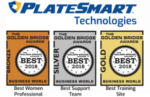 PlateSmart Wins the Golden Bridge 2018 Awards
