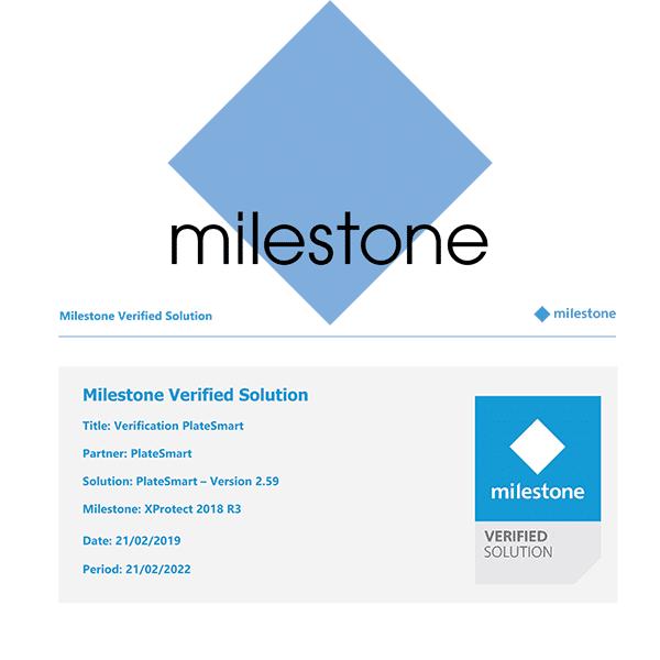 Milestone Verification