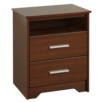 Coal Harbor 2-Drawer Tall Nightstand - Espresso ECH-2250