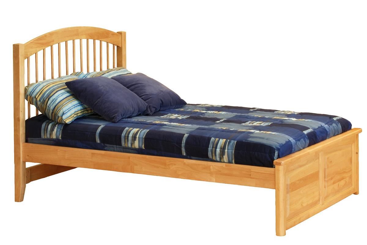 Windsor Platform Bed Raised Panel Footboard