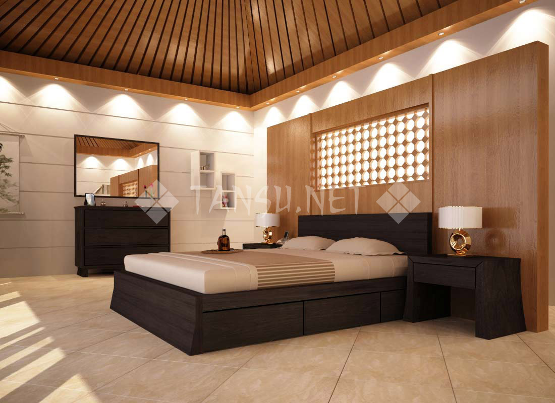 Cairo Storage Platform Bed