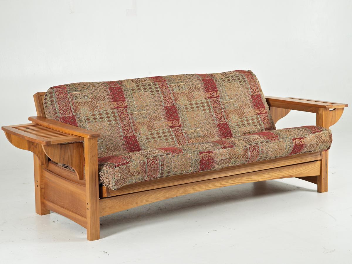 kirby sofa review gold coloured leather sofas borromeo oak futon