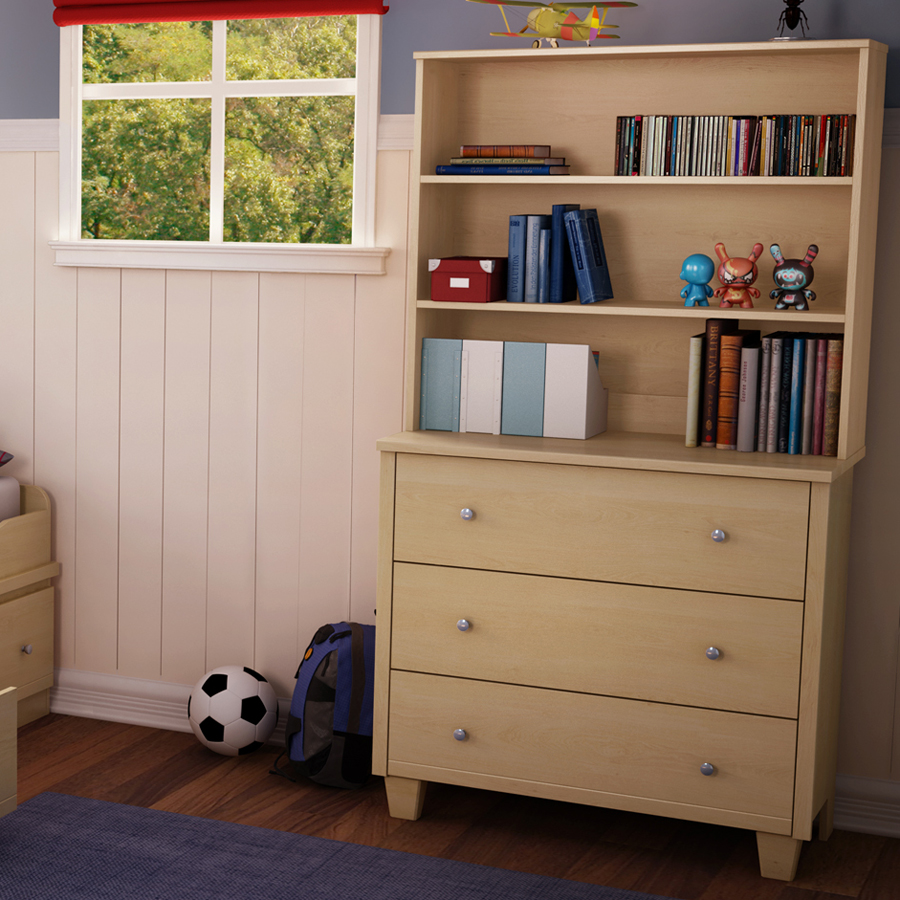 Hamelin 3 Drawer Chest And Hutch