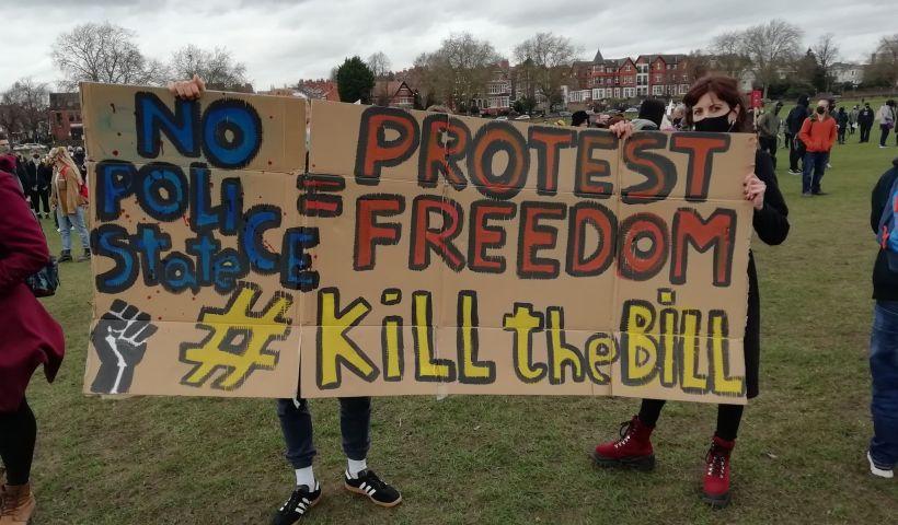 Nottingham Kill the Bill protest