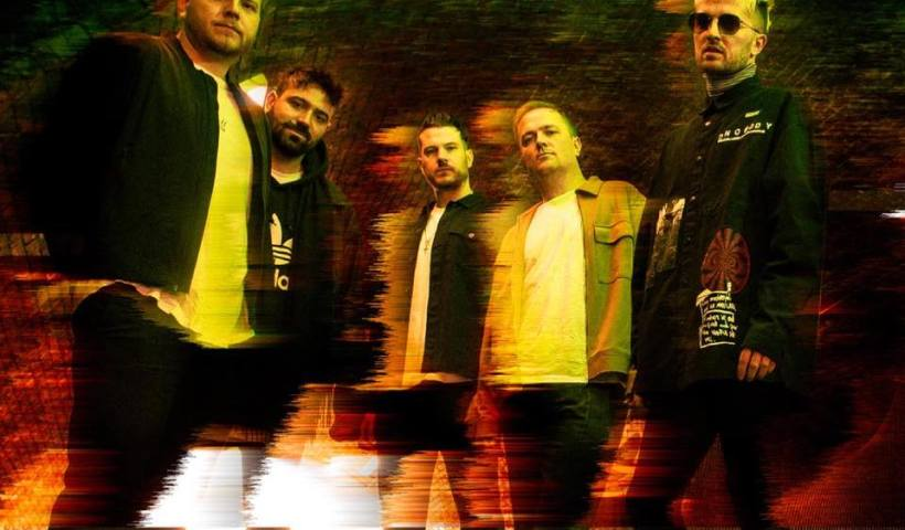 East London rock band 'Chapter and Verse', who have released their latest single 'After Midnight'