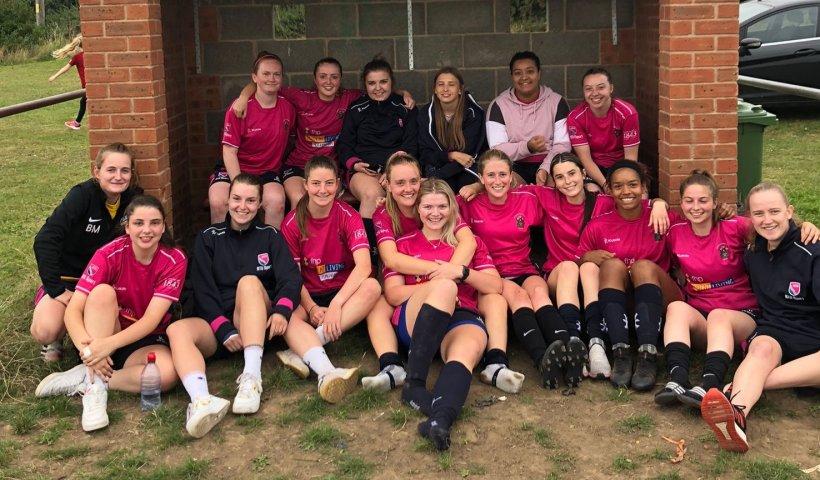 Nottingham Trent University's Women's Football Club