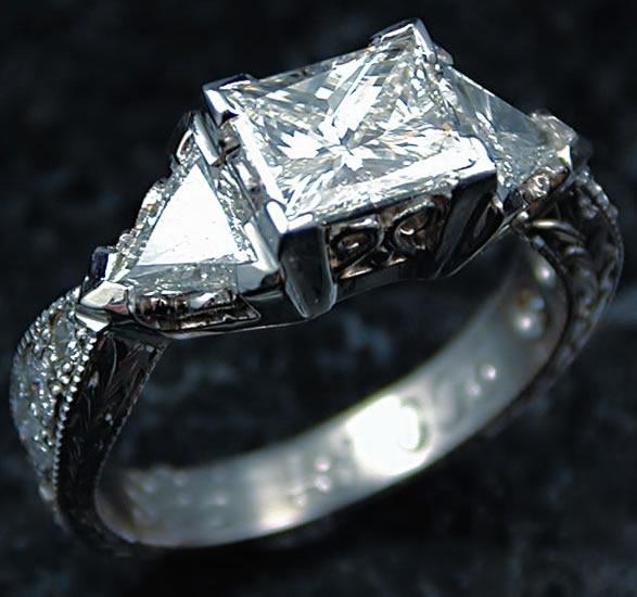 Platin Ring Farbe