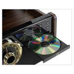 Victrola Empire Chaîne Stéréo 6-en-1 Platine Vinyle – Expresso