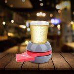 Keenso – Pointeur de platine tournante – Barre en plastique – Jeu de boisson – Pointeur rotatif – KTV – Fête – Outil de divertissement