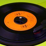 58bh Lot de 2 adaptateurs pour disque vinyle de 37 mm x 6 mm pour platine à 45 tr/min