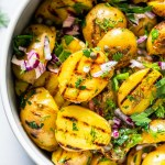 Grilled Potato Salad With Tangy Mustard Dressing Platings Pairings