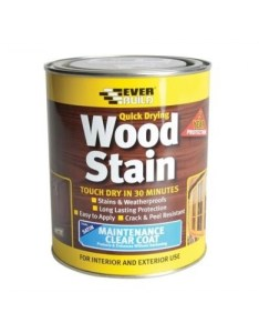 Everbuild quick drying wood stain weatherproof satin many colours also  rh platinum supplies