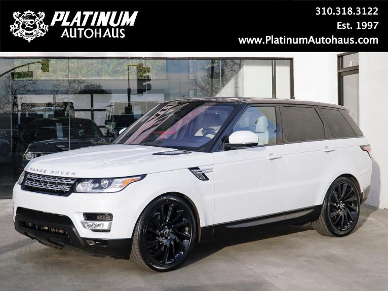 2015 Land Rover Range Rover Sport Supercharged *** DYNAMIC