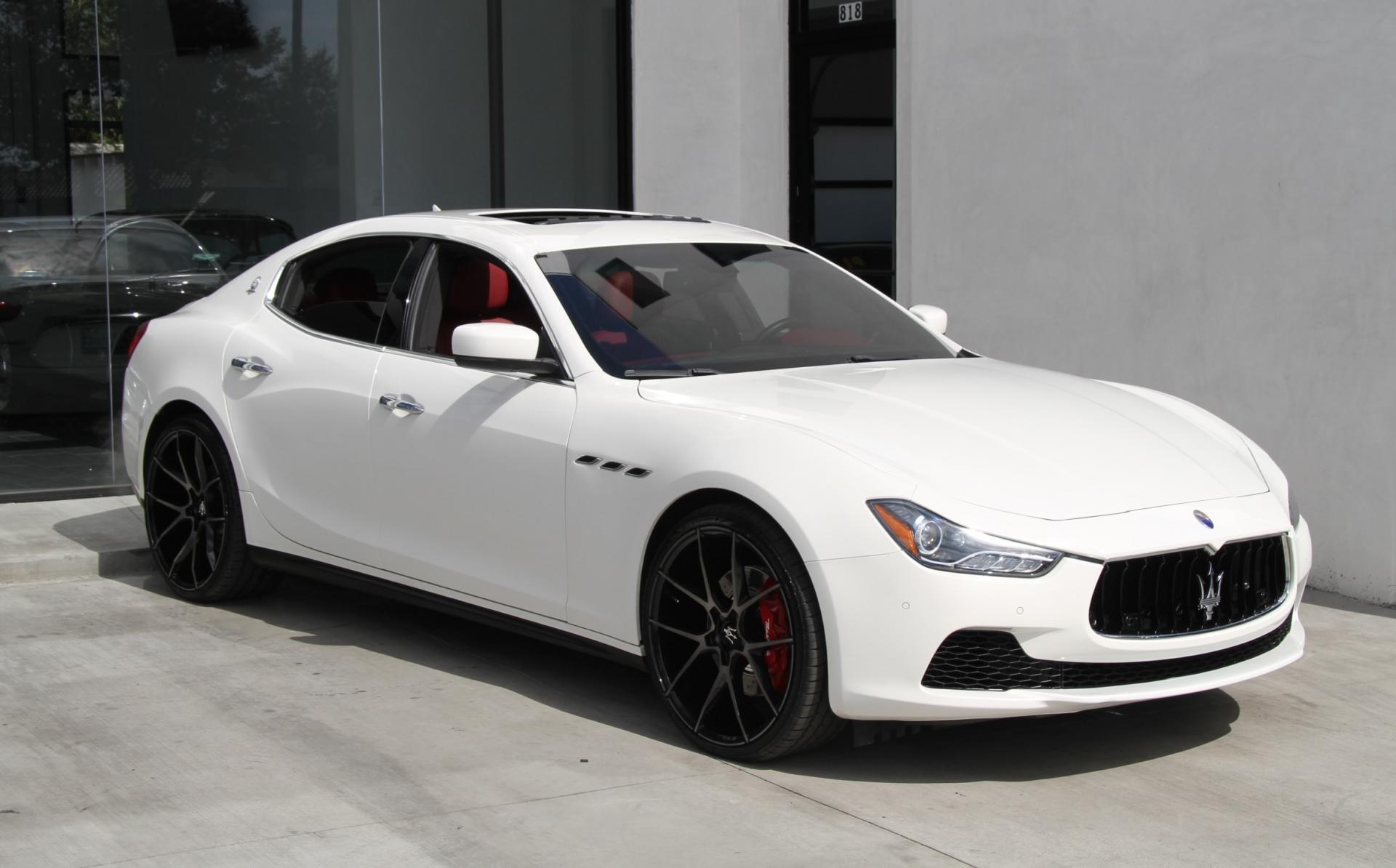 2016 Maserati Ghibli S Stock  5994 for sale near Redondo Beach CA  CA Maserati Dealer