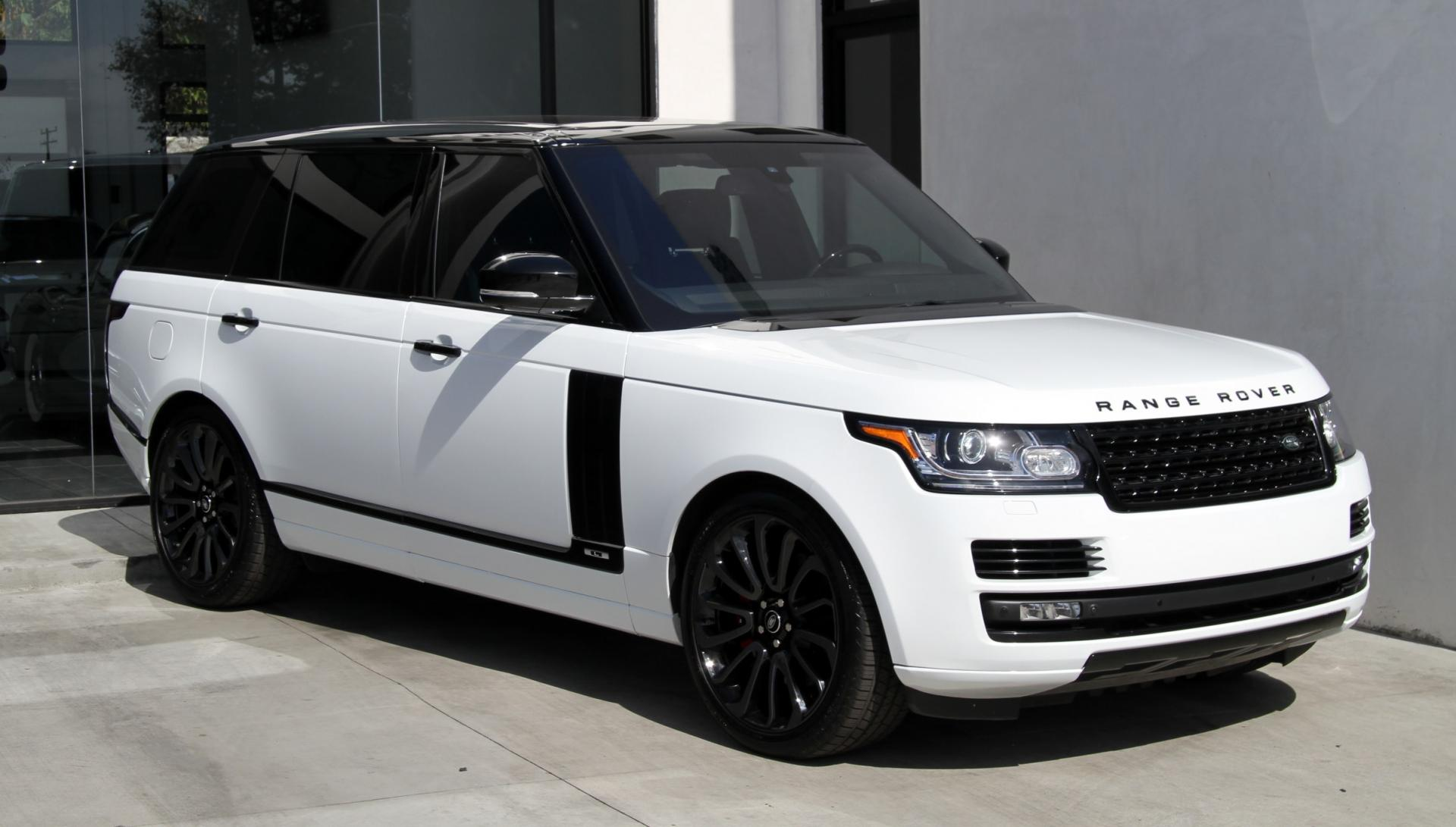 2015 Land Rover Range Rover Supercharged  LONG WHEEL BASE  Stock  6375A for sale near