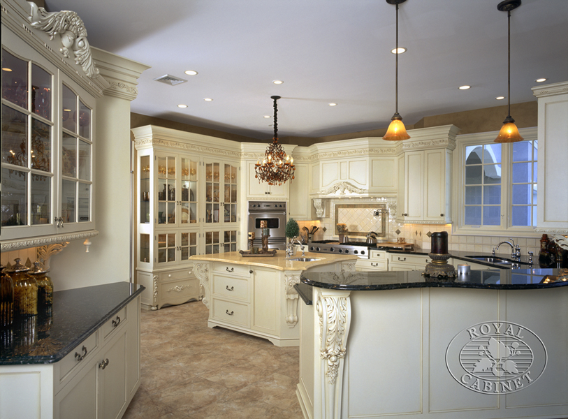 Custom Kitchens  Formal Kitchen  Platinum Designs LLC  Designer Ian Cairl