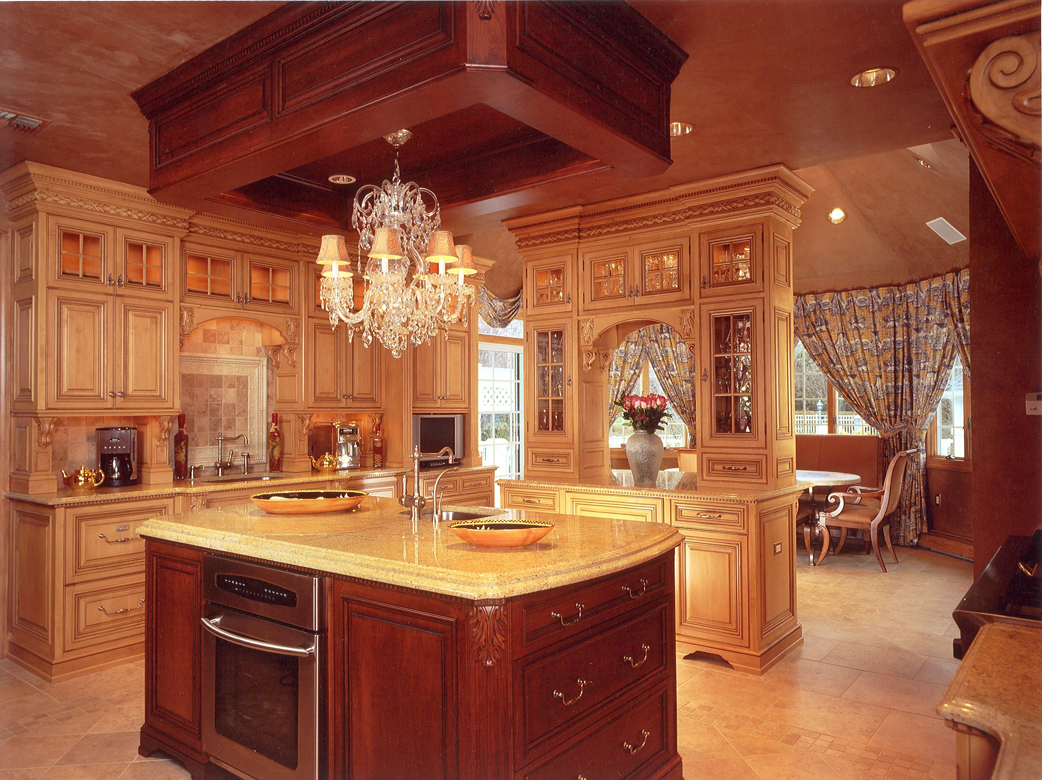 Custom Kitchens Formal Kitchen Platinum Designs LLC
