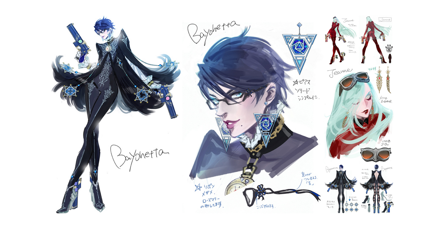 Fall Anime Wallpaper Vocaloid Character Design Pt 1 Bayonetta And Jeanne