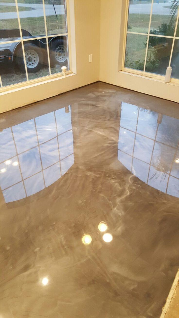 Epoxy Countertop And Floor Coating Platinum Refinishing
